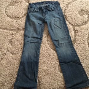 7 for all mankind size 26 length 31.5 jeans
